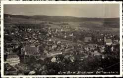 Foto Ak Suhl in Thüringen, Blick vom Ottilienstein auf die Stadt, Kirche