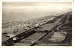 Postcard Zandvoort Nordholland, Noorder Strand met Boulevard