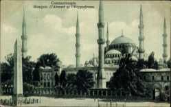 Postcard Konstantinopel Istanbul Türkei, Mosquée d'Ahmed et l'Hippodrome