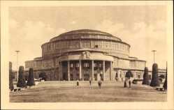 Ak Wrocław Breslau Schlesien, 100 Jahre Freiheitskriege, Jahrhunderthalle