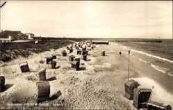 Postcard Prerow Darß Ostsee, Blick auf den Strand, Meer und Umgebung