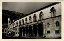 Postcard Dubrovnik Kroatien, Knezev dvor, Rektorenpalast