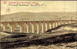 Postcard Lisboa Lissabon Portugal, Aqueducto das Aguas Livres, Aquädukt