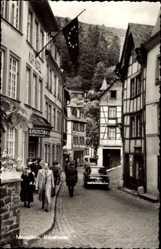 Postcard Monschau Montjoie in der Eifel, Kurhotel in der Rurstraße
