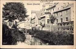 Postcard Simmern im Rhein Hunsrück Kreis, Kanalpartie mit Umgebung