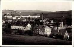 Postcard Zöblitz Marienberg im Erzgebirge Sachsen, Blick vom Burgberg, Gebäude