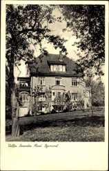 Postcard Bad Pyrmont in Niedersachsen, Ansicht der Villa Neander
