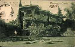 Postcard Crimée Krim Ukraine, Petit Palais, Kleiner Palast, Gartenkunst