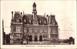 Ak Versailles Yvelines, L'Hôtel de Ville, Ansicht vom Rathaus
