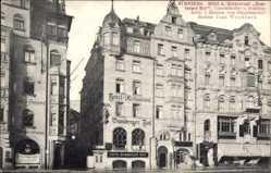Postcard Nürnberg in Mittelfranken Bayern, Hotel Bamberger Hof, Besitzer Jean Wendhack