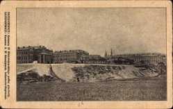 Postcard Skierniewice Polen, Kaserne des 31. Alexejewsk Infanterie Regiments