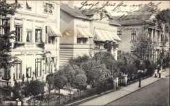 Postcard Bad Oeynhausen in Nordrhein Westfalen, Villa Fortuna in der Klosterstraße