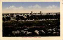 Postcard Delhi Indien, Secretariat Building, Capital, Blick auf Regierungsgebäude