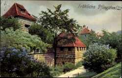 Postcard Nürnberg in Mittelfranken Bayern, Photochromie, Nenke und Ostermaier 1915