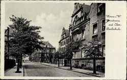 Postcard Herne im Ruhrgebiet Nordrhein Westfalen, Lönsstraße mit Oberrealschule