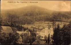 Postcard Bad Rippoldsau Schapbach im Schwarzwald, Klösterle, Waldhang