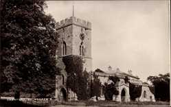 Postcard Cranford East Midlands, View of St. Andrew's Church