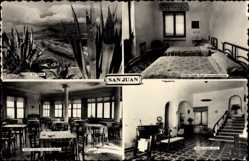 Postcard San Juan Nicaragua, Hotel Costa Azul, Habitacion, Playa, Comedar