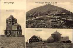 Ak Riesengebirge, Schneekoppenbaude, Schronisko Na Sniezce, Riesengebirge