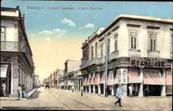 Postcard Havanna Kuba, Cuatro Caminos, Cerro Avenue, La Estrella