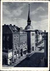 Postcard Oldenburg in Niedersachsen, Straßenpartie, Georg Schwarting, Lindor