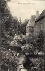 Postcard 'S Heerenberg Montferland Gelderland, Kasteel Bergh, Schloss, Wassergraben