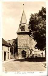 Postcard Titchfield South East, St. Peters Church, Ansicht der Kirche