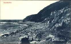 Postcard Schweden, Barakullen, Steiniger Strand, Felsen, Küste