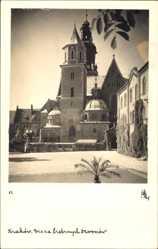 Foto Ak Kraków Krakau Polen, Wieza srebrnych Dzwonow, Turm