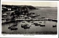 Ak Mevagissey South West England, general view of the coast, Tuck and Sons