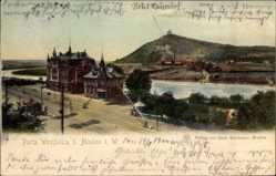 Postcard Porta Westfalica in Nordrhein Westfalen, Stadtansicht, Wittekindsberg