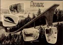 Ak Klingenthal Aschberg, Skisprungschanze, Skispringer, Sporthotel, Harry Glatz