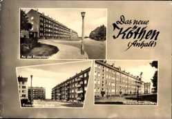 Postcard Köthen in Anhalt, Stadtansichten, Rüsternbreite, Franz Mehring Straße