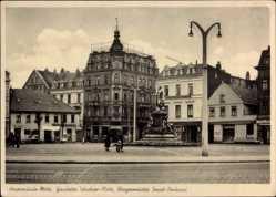 Postcard Wesermünde Mitte Bremerhaven Niedersachsen, Gauleiter Telschow Platz