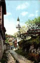 Postcard Konstantinopel Istanbul Türkei, La Priere du Muezzin, Minarett