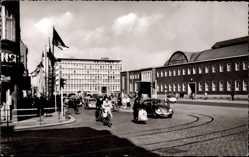 Postcard Kiel in Schleswig Holstein, Blick auf den Hauptbahnhof