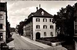 Postcard Zirndorf im Kreis Fürth Mittelfranken, Blick auf das Rathaus