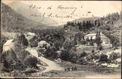 Ak Valle de Aran Katalonien, Frontera de Francia e Espana