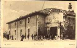 Postcard Vitoria Brasilien, Villa Suso, Straßenansicht, Einwohner
