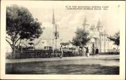 Postcard Delhi Indien, The Maharaja Baroda Camp, Coronation Durbar 1911