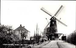 Postcard Wissenkerke Zeeland, Molen de Onderneming, Windmühle