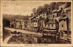 Ak Luxemburg, Partie dans le Grund, Straßenansicht, Stengel