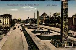 Postcard Konstantinopel Istanbul Türkei, Parc du Sultan Ahmed