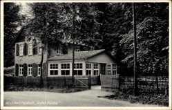 Postcard Delligsen Niedersachsen, Blick auf Waldwirtschaft roter Fuchs