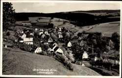 Foto Ak Steinbach Jöhstadt im Erzgebirge Sachsen, Blick auf das Oberdorf