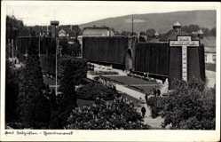 Postcard Bad Salzuflen im Kreis Lippe, Blick auf das Gradierwerk, Thermalbad