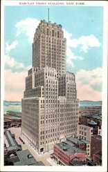 Postcard New York City USA, view of the Barclay Vesey Building