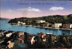 Postcard Konstantinopel Istanbul Türkei, Baie de Thérapia, Bosporus