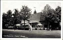 Postcard Rhenen Utrecht Niederlande, Café Restaurant Viaduct, K. Wagenvoort