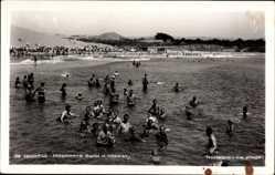 Ak Nessebar Bulgarien, La Plage, Strandpartie, Badende Menschen, Meer